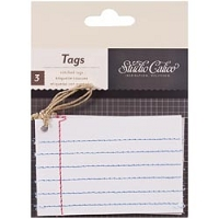 Studio Calico - Classic Calico Collection - Tags
