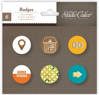 Studio Calico - Here & There Collection - Badges