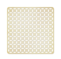 Studio Calico - Classic Calico Collection - 12 x 12 Die Cut Paper - Intertwined Circle - Tan
