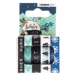 Studio Light - Winter Joys Washi Tapes #05
