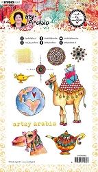 Studio Light - Camel Travel Artsy Arabia Art by Marlene Clear Stamp No. 60
