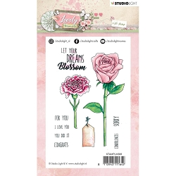 Studio Light - Lovely Moments - Let Your Dreams Blossom Clear Stamp