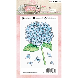 Studio Light - Lovely Moments - Hydrangea Clear Stamp
