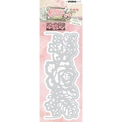 Studio Light - Lovely Moments - Rose Border Die