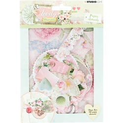 Studio Light - Lovely Moments Ephemera Paper Elements (#654)