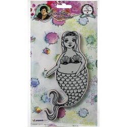 Studio Light - Chubby Chicks Mermaid Art by Marlene Cling Stamp