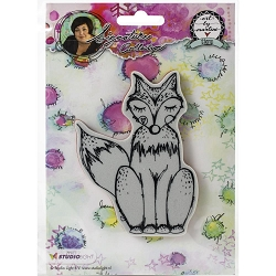 Studio Light - Fox Art by Marlene Cling Stamp