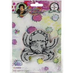 Studio Light - Crab Art by Marlene Cling Stamp