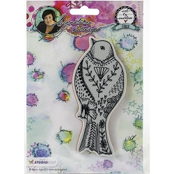 Studio Light - Bird Art by Marlene Cling Stamp