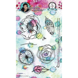 Studio Light - Flowers Art by Marlene Clear Stamp