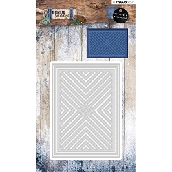 Studio Light - Denim Saturdays - Chevron Panel Die
