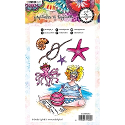 Studio Light - Just Beachy Art by Marlene Clear Stamp No. 53