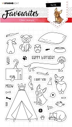 Studio Light - Pet Life Nr 423 Favourites Clear Stamp