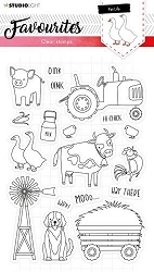 Studio Light - Pet Life Nr 424 Favourites Clear Stamp