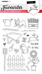 Studio Light - Pet Life Nr 425 Favourites Clear Stamp