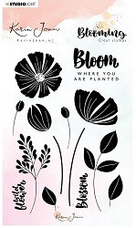 Studio Light - Blooming Nr. 1 Clear Stamp