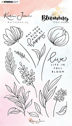 Studio Light - Blooming Nr. 4 Clear Stamp
