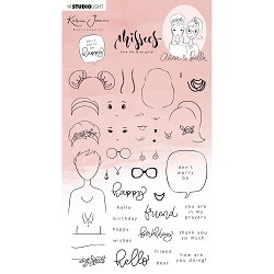 Studio Light - Anna & Bella Missees Clear Stamps