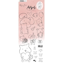 **PRE-ORDER** Studio Light - Pets Missees Clear Stamps