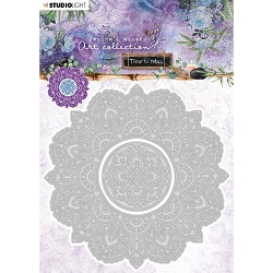 Studio Light - Jenine's Mindful Art - Mandala Die No. 12