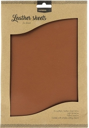 Studio Light - Light Brown Faux Leather Sheets