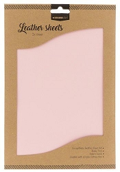 Studio Light - Baby Pink Faux Leather Sheets