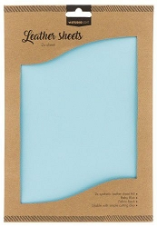Studio Light - Baby Blue Faux Leather Sheets