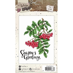 Studio Light - Winter Days - Winter Berries Clear Stamp Set