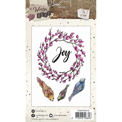 Studio Light - Winter Days - Berry Wreath Clear Stamp Set