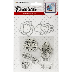 Studio Light - Essentials Winter Is Coming Stamp & Die Set DC28