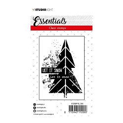 Studio Light - Essentials Let it Snow Tree Stamp SL394