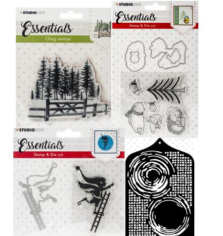 Essentials Stamps, Dies, and Stencils
