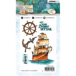 Studio Light - Ocean View - Ahoy Clear Stamp