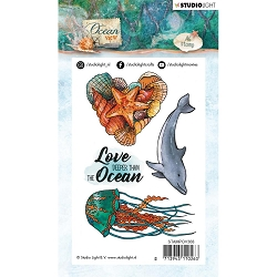 Studio Light - Ocean View - Jellyfish Clear Stamp