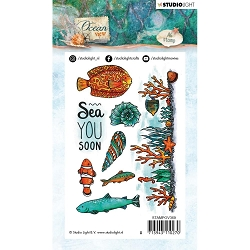 Studio Light - Ocean View - Sea You Soon Clear Stamp