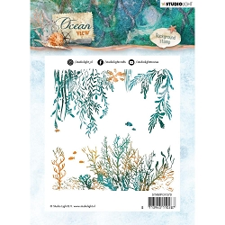 Studio Light - Ocean View - Sea Floor Clear Stamp