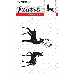 Studio Light - Essentials Clear Stamp - Buck and Doe