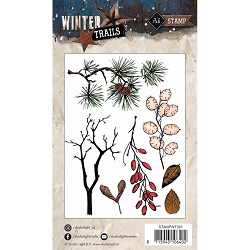 Studio Light - Winter Trails - Branches Clear Stamp