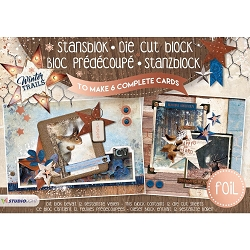 Studio Light - Die-Cut Card Topper Pad - Winter Trails
