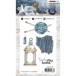 Studio Light - Snowy Afternoon - Knitting Clear Stamp