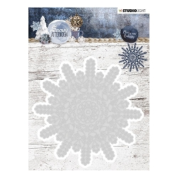 Studio Light - Snowy Afternoon - Snowflake Die