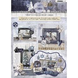 Studio Light - Snowy Afternoon Die-Cut Card Topper Pad