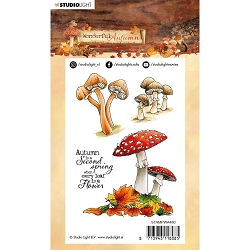 Studio Light - Wonderful Autumn - Mushrooms Clear Stamp #480