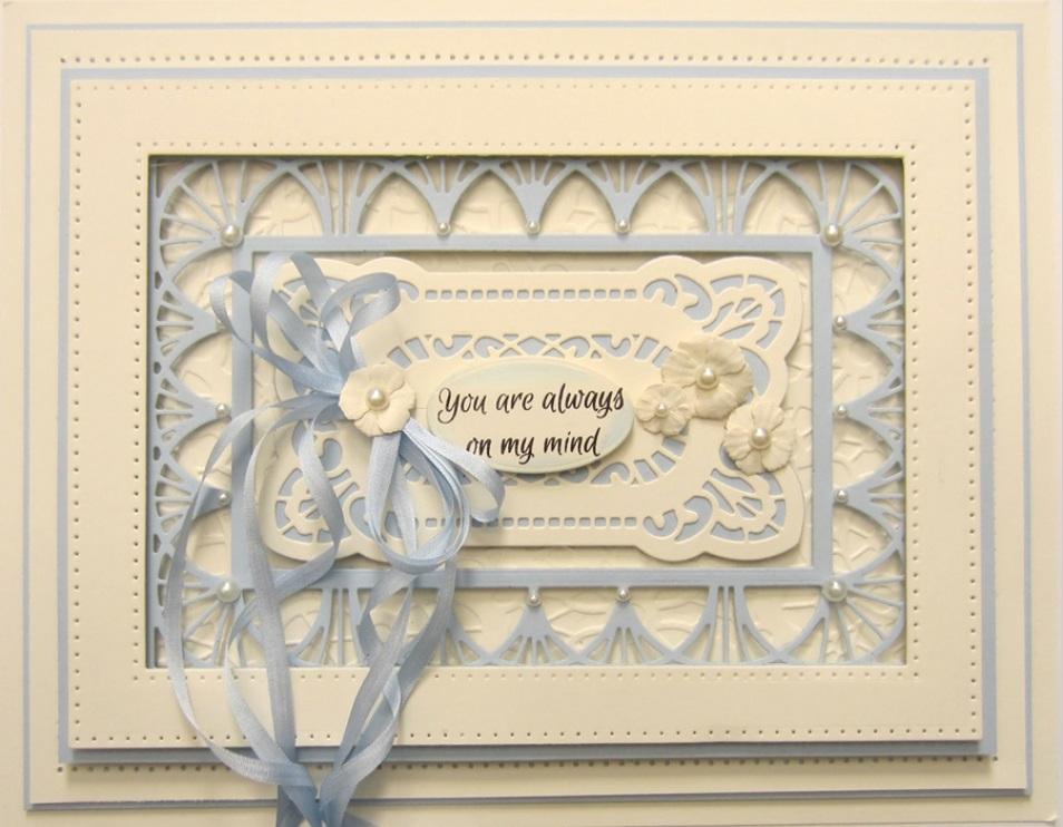 Creative Expressions Sue Wilson noble muere-Doble Perforado rectángulos CED5508