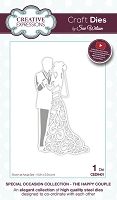 Sue Wilson Designs - Die - Special Occasion Collection - The Happy Couple