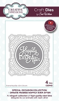 Sue Wilson Designs - Die - Special Occasion Collection - Ornate Framed Happily Ever After