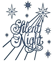 Sue Wilson Designs - Die - Festive Collection - Silent Night :)
