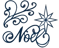 Sue Wilson Designs - Die - Festive Collection - Noel Star :)