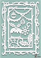 Creative Expressions - Die - Paper Cuts Collection Christmas Feast