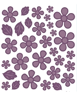 Sue Wilson Designs - Die - Finishing Touches Camellia Complete Petals   (set of 31 dies)